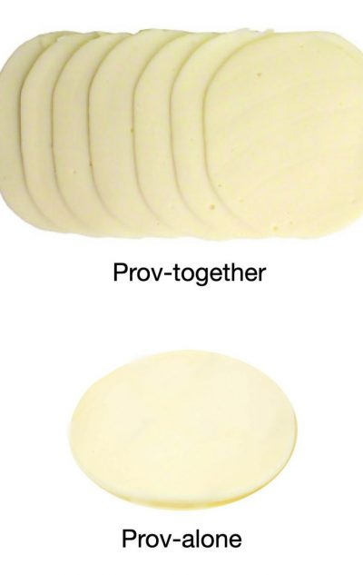 provolone joke: prov-together and prov-alone